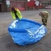 Aqua-sac® inflation tank being unfolded