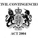 Civil contingencies act 2004 coat or arms